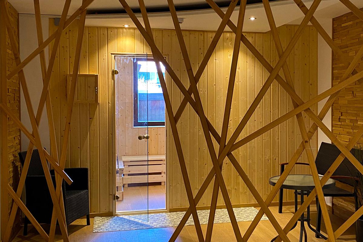 Hotel Das Waldkönig - Saunabereich